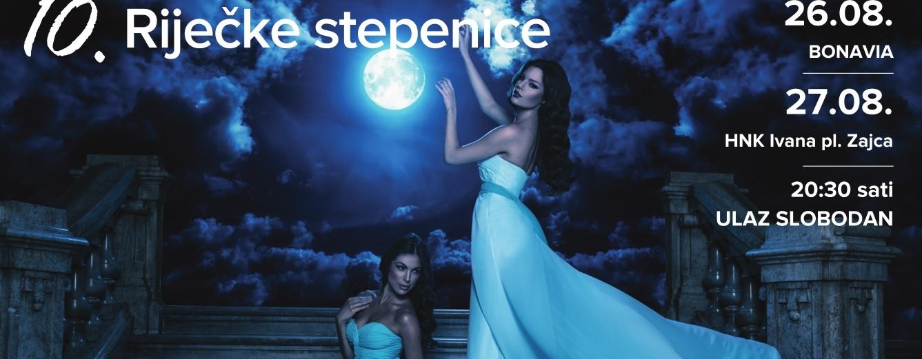 FOTO: 10. RIJEČKE STEPENICE Očekuje vas čak dvadeset modnih revija u dvije večeri