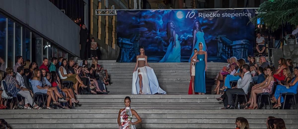 FOTO: Modna manifestacija 'Riječke stepenice' oduševila mnogobrojnu publiku