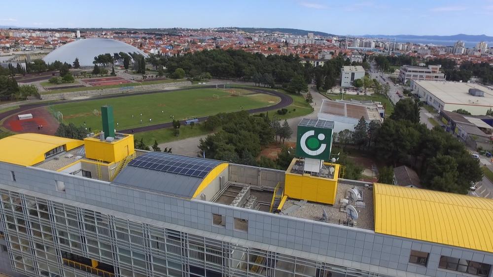 Solarni paneli na upravnoj zgradi u Gradu Zadru
