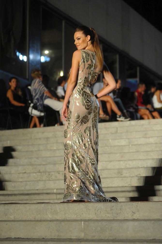 Vesna Sposa uvijek zadivljuje modnu publiku, što je potvrdila i ovaj put