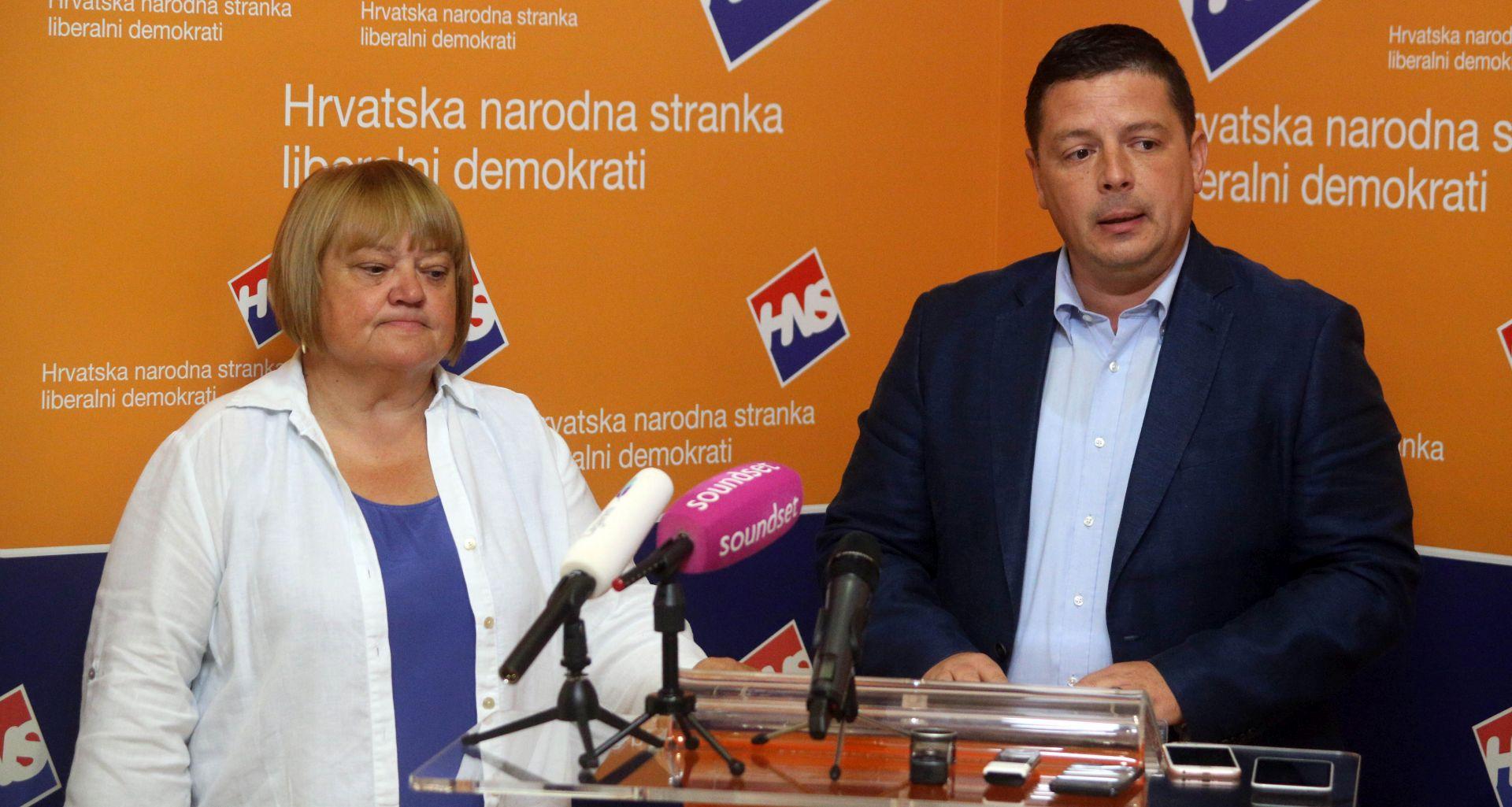 HNS: Nedopustivo je da Bandić novcem građana radi sebi kampanju
