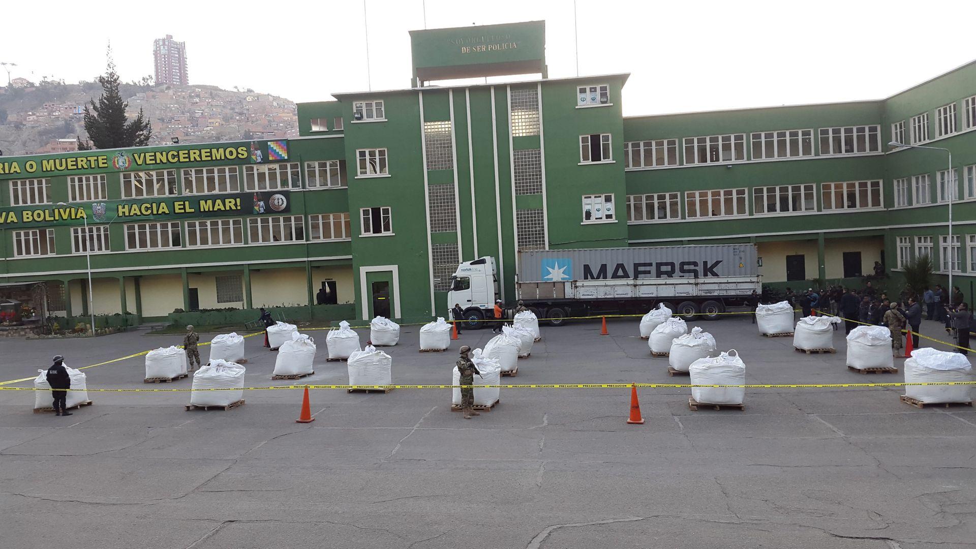 VELIKA AKCIJA: Bolivijska policija zaplijenila 7,5 tona kokaina