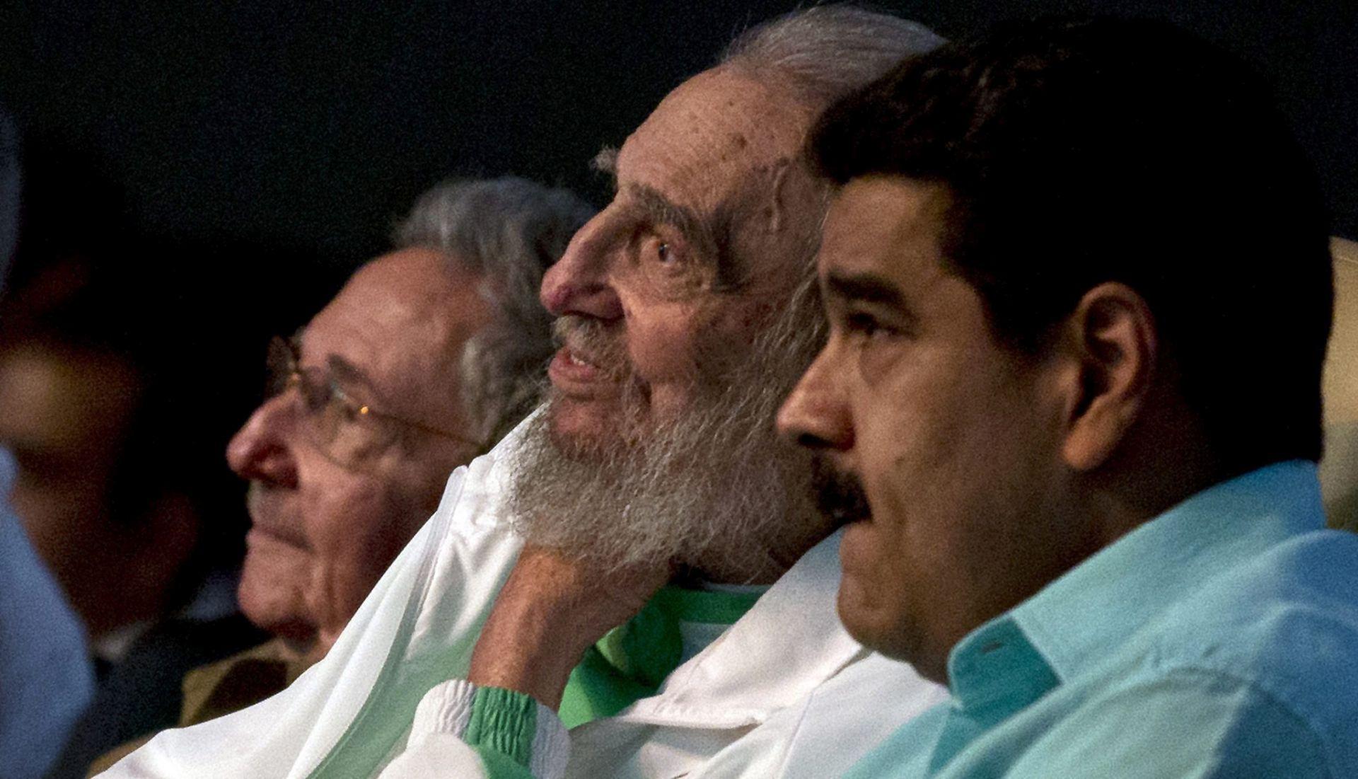 Fidel Castro u javnosti za 90. rođendan