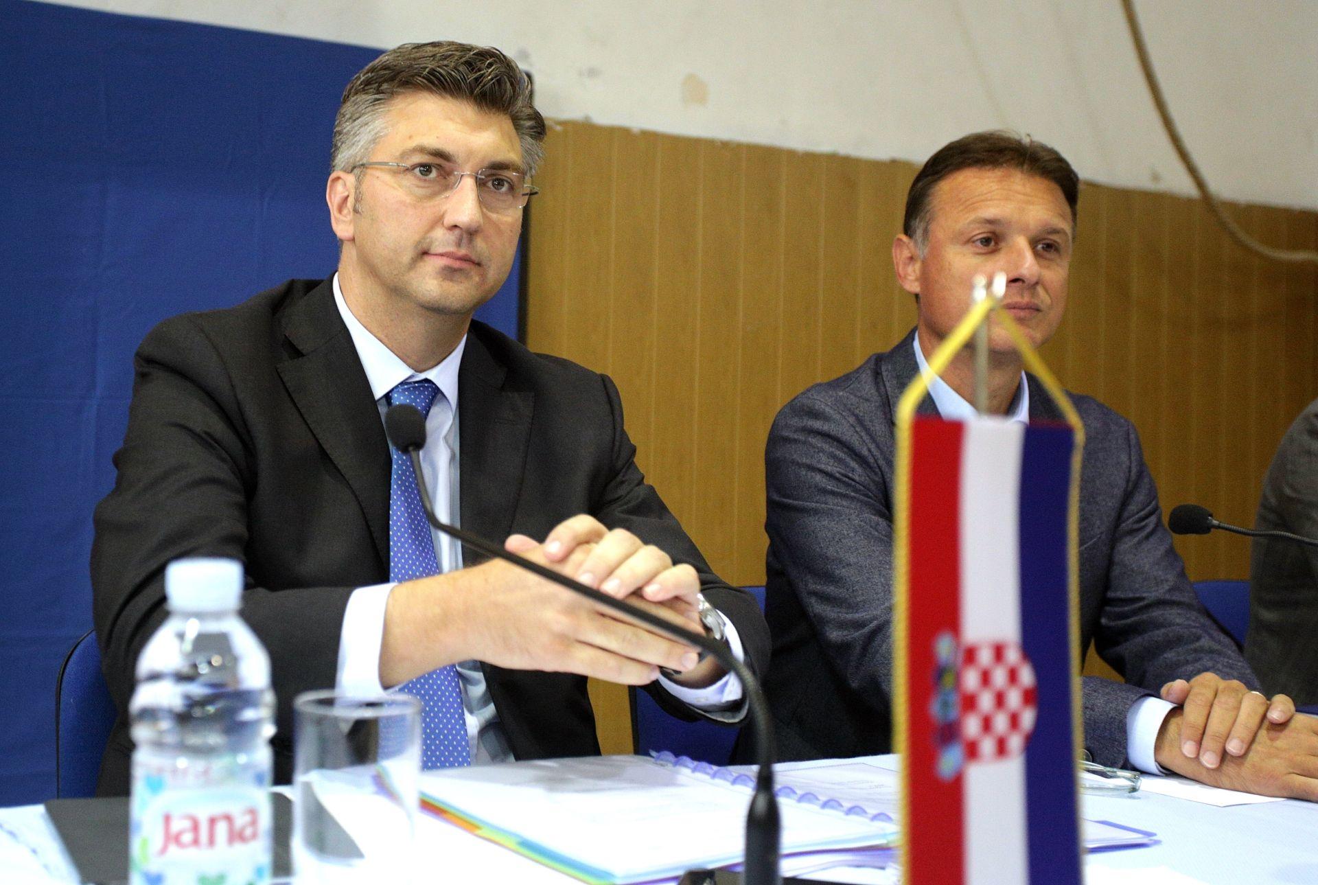 """PLENKOVIĆ """"Mailove nisam detaljno čitao""""; Jandroković """"Neki mailovi su se mogli izbjeći"""""""