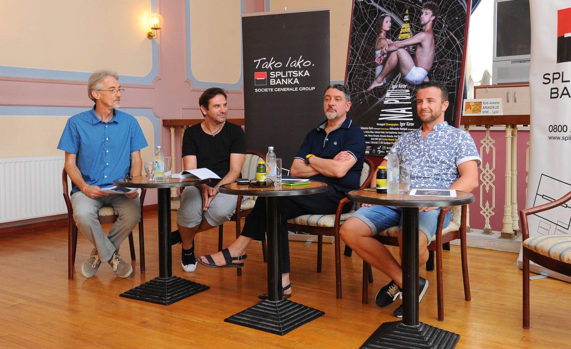 """HNK SPLIT: Najavljena premijera baletne predstave """"Na putu"""""""