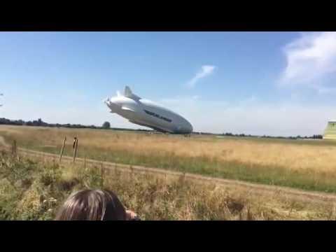 VIDEO: Airlander 10 se srušio tokom drugog probnog leta