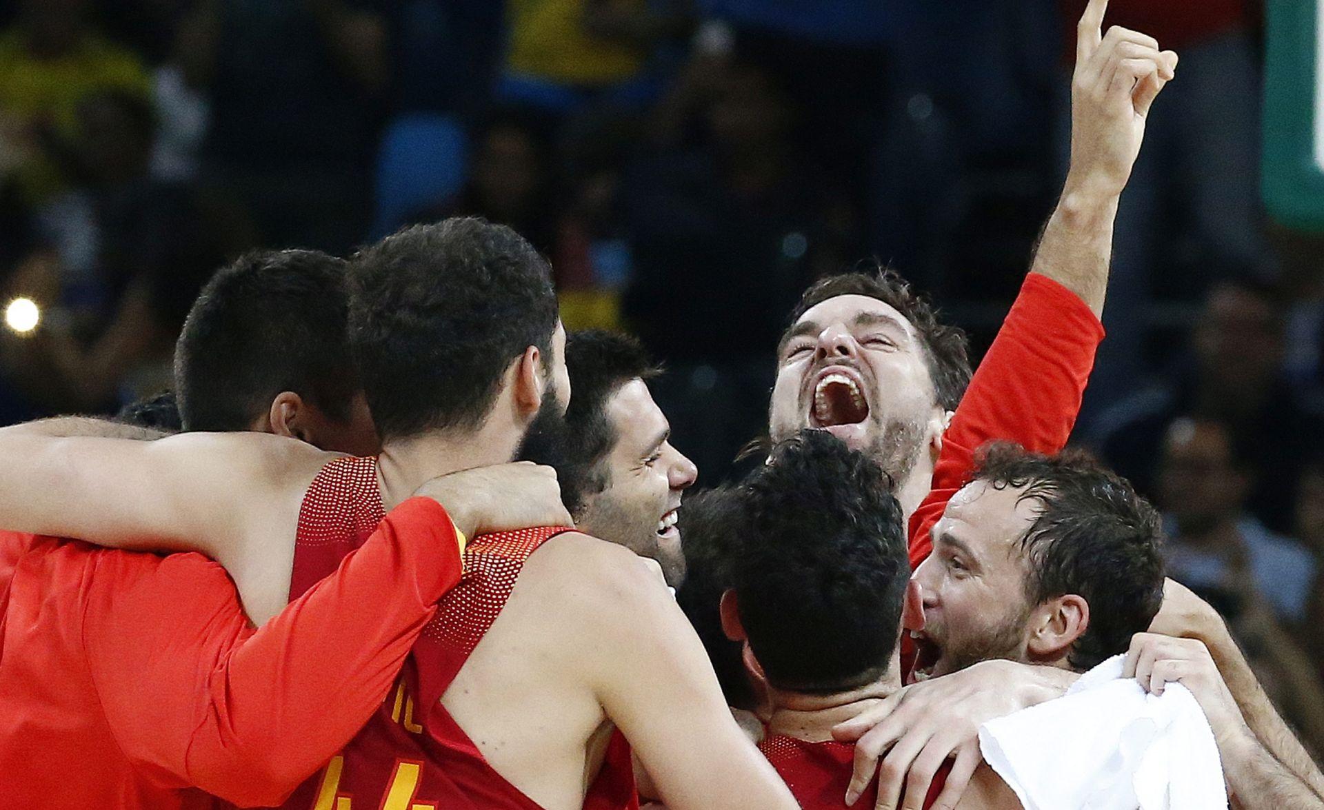 Španjolskim košarkašima bronca
