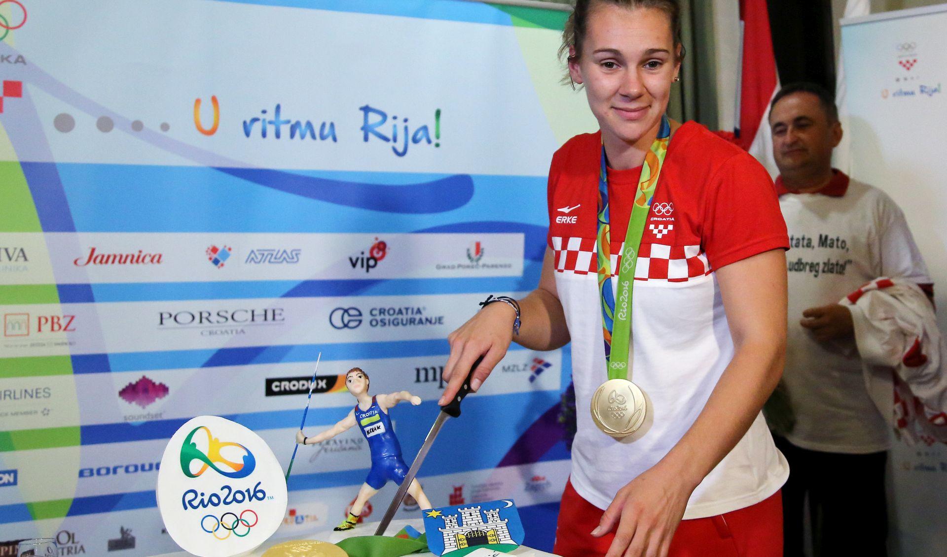DOČEK ZA PAMĆENJE: Ludbrežani dočekali svoju zlatnu olimpijku Saru Kolak