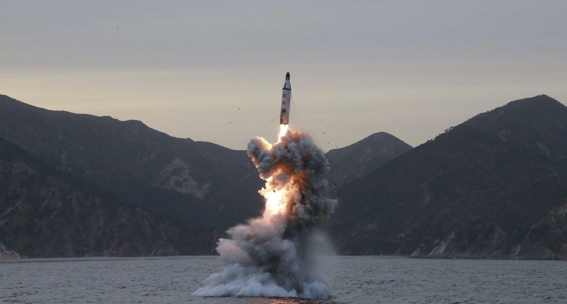 STRUČNJACI Značajan napredak Pjonjanga u razvoju balističkih raketa lansiranih s podmornice