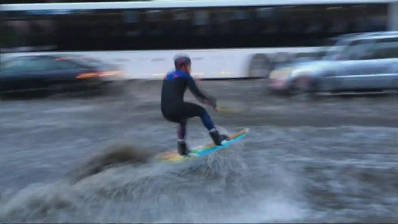 VIDEO: Wakeboarding na ulicama glavnog ruskog grada