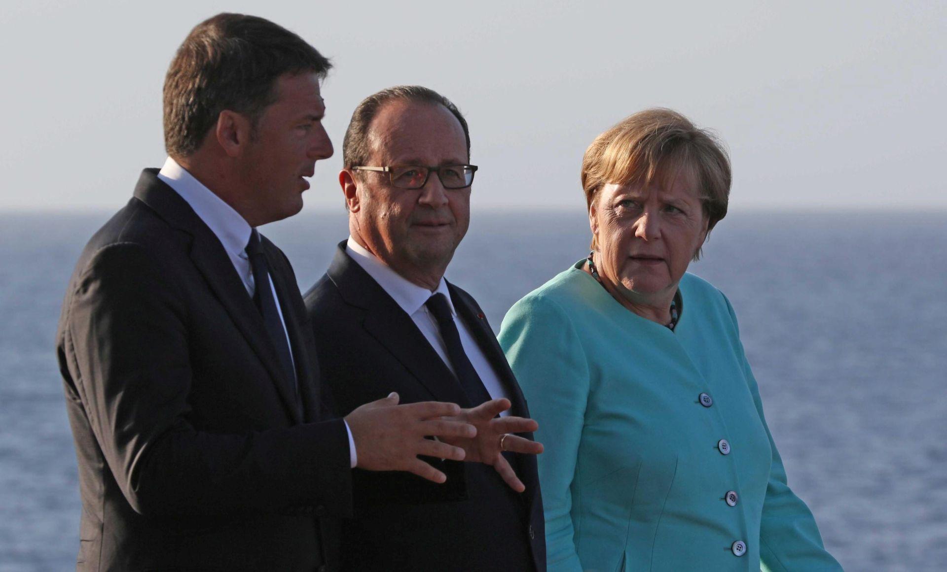 NAKON BREXITA: Njemačka, Italija i Francuska kažu da Europa mora ići dalje