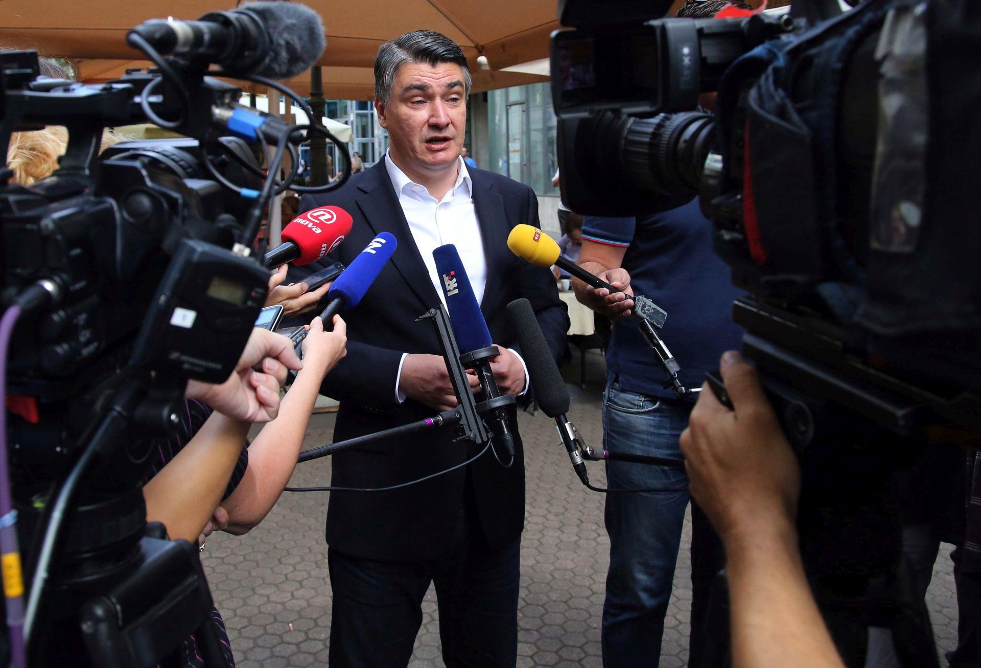 Zoran Milanović potvrdio da juriša na Pantovčak