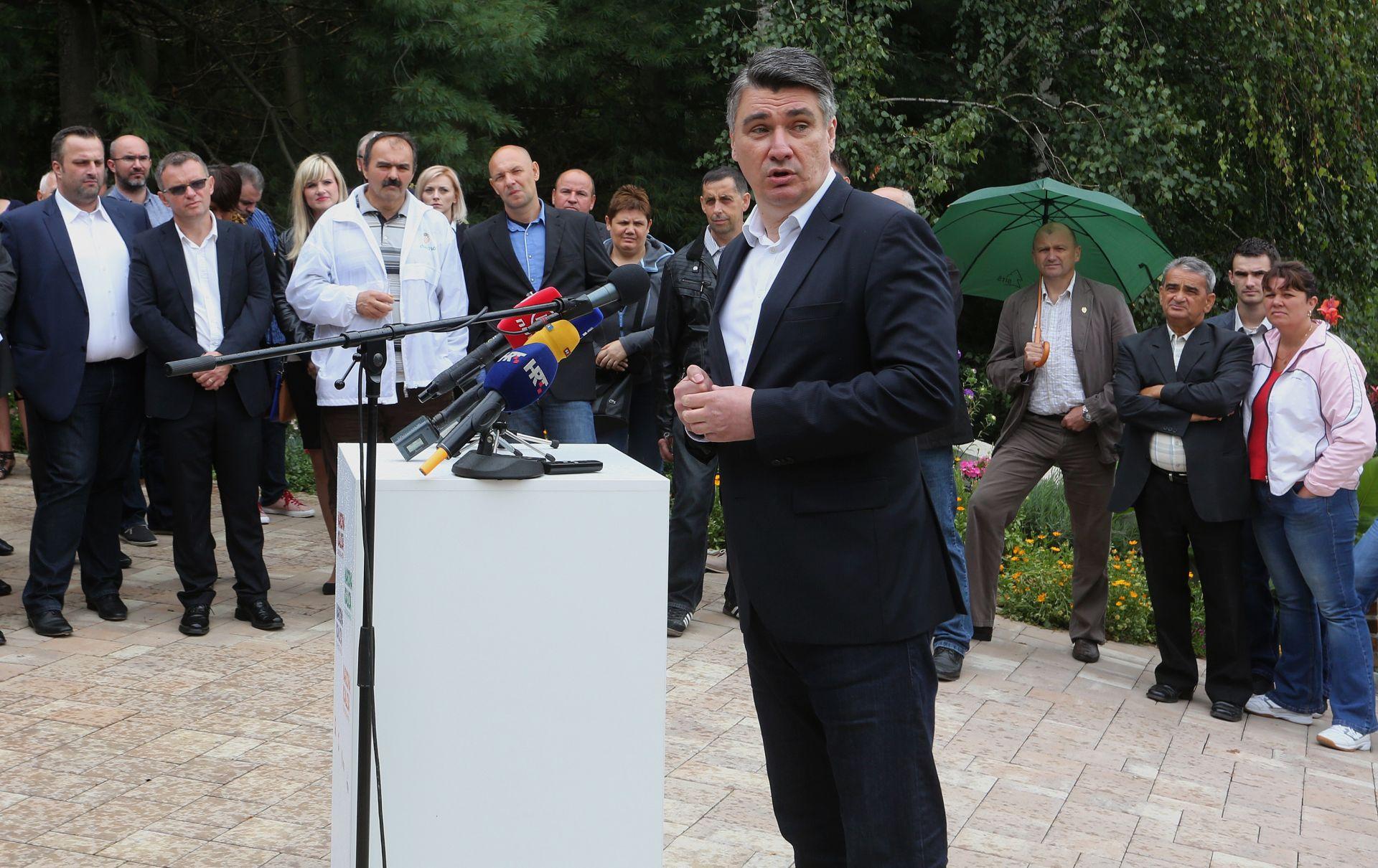 ZORAN MILANOVIĆ: U mandatu Kukuriku koalicije bio je samo jedan seljački prosvjed