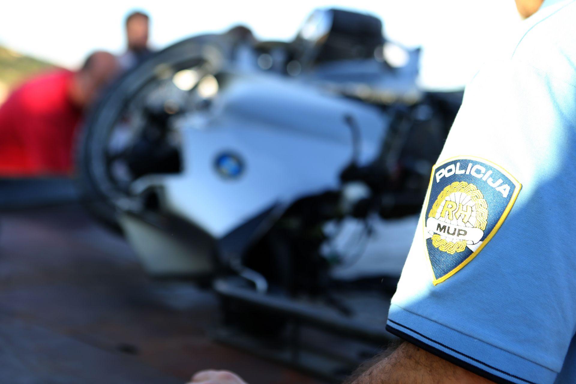 PROMETNA NESREĆA: U sudaru s automobilom kod Petrčana poginuo motociklist