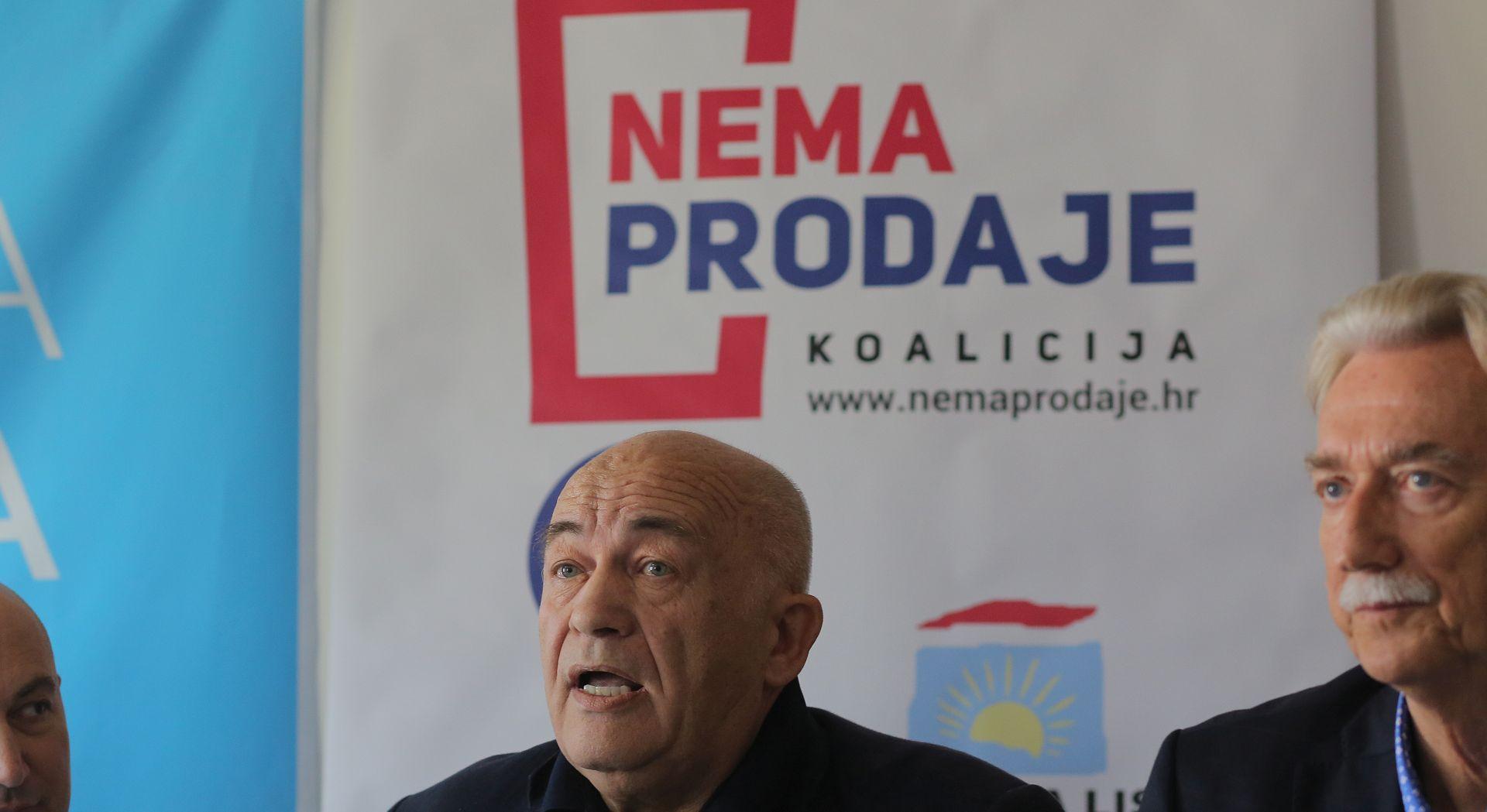 Koaliciji Nema prodaje pridružio se i ORaH: Borit ćemo se za malog čovjeka