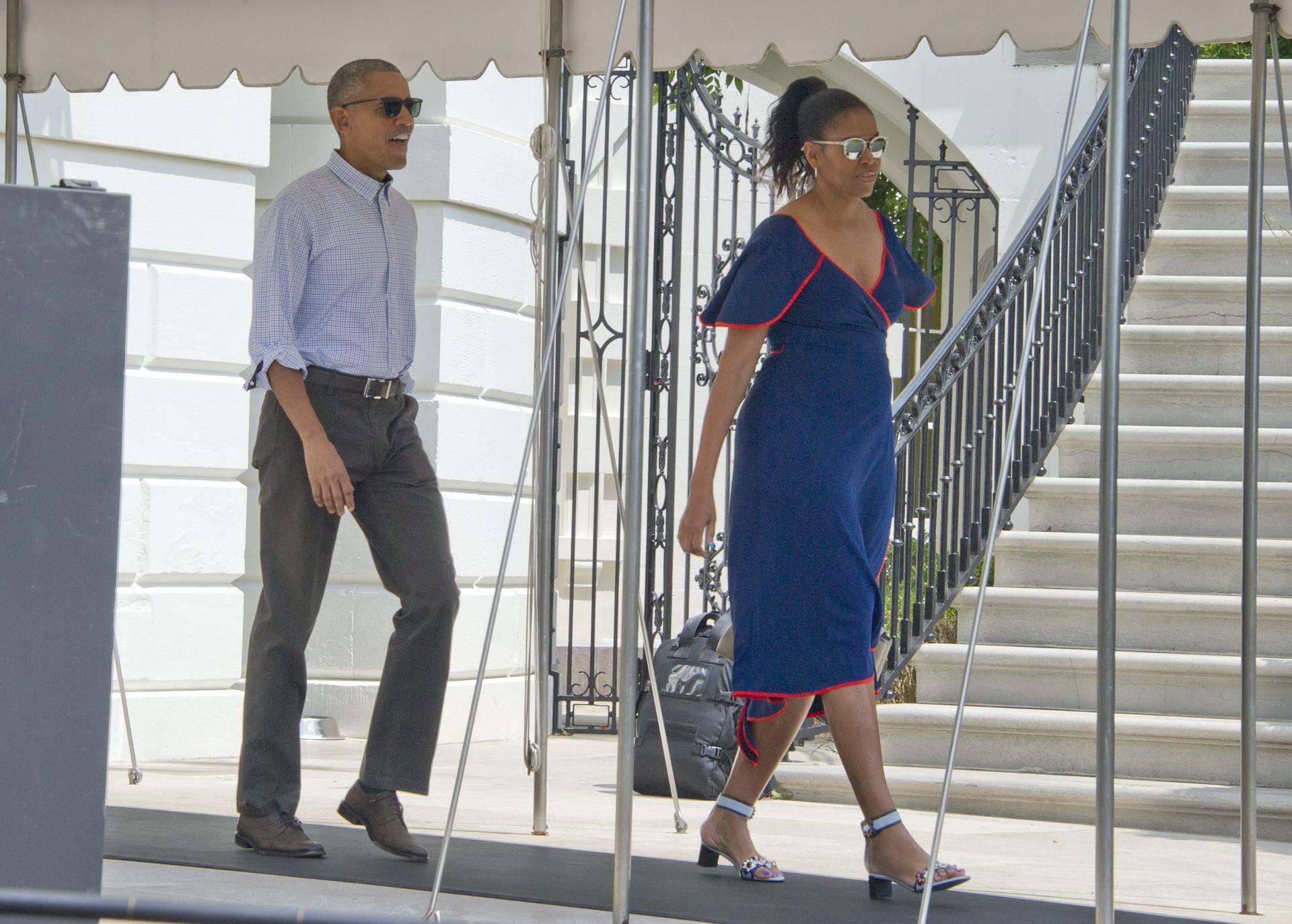 Martha's Vineyard: Obitelj Obama otišla na dvotjedno ljetovanje