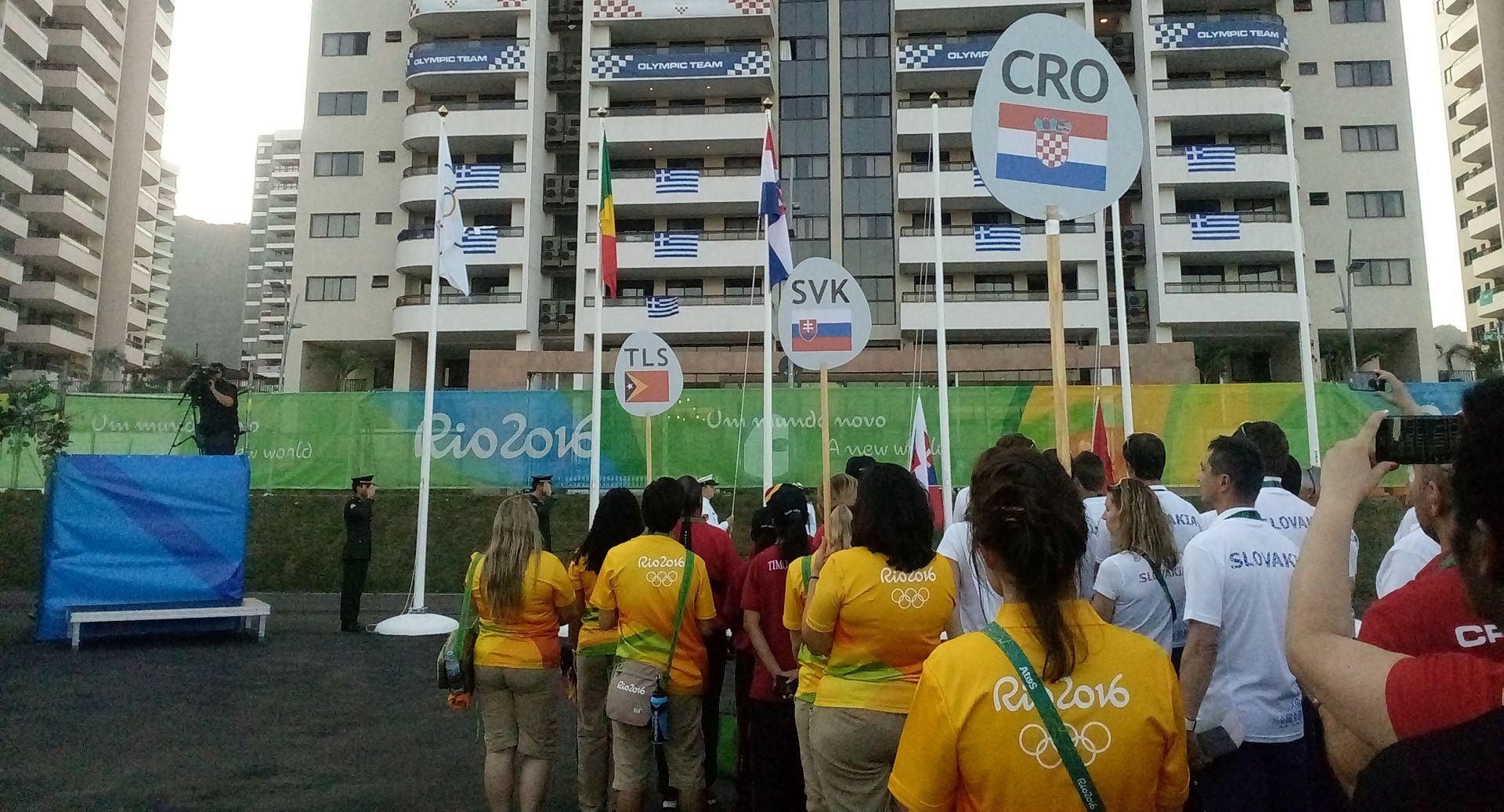 OI RIO: Dobrodošlica Hrvatskoj olimpijskoj delegaciji