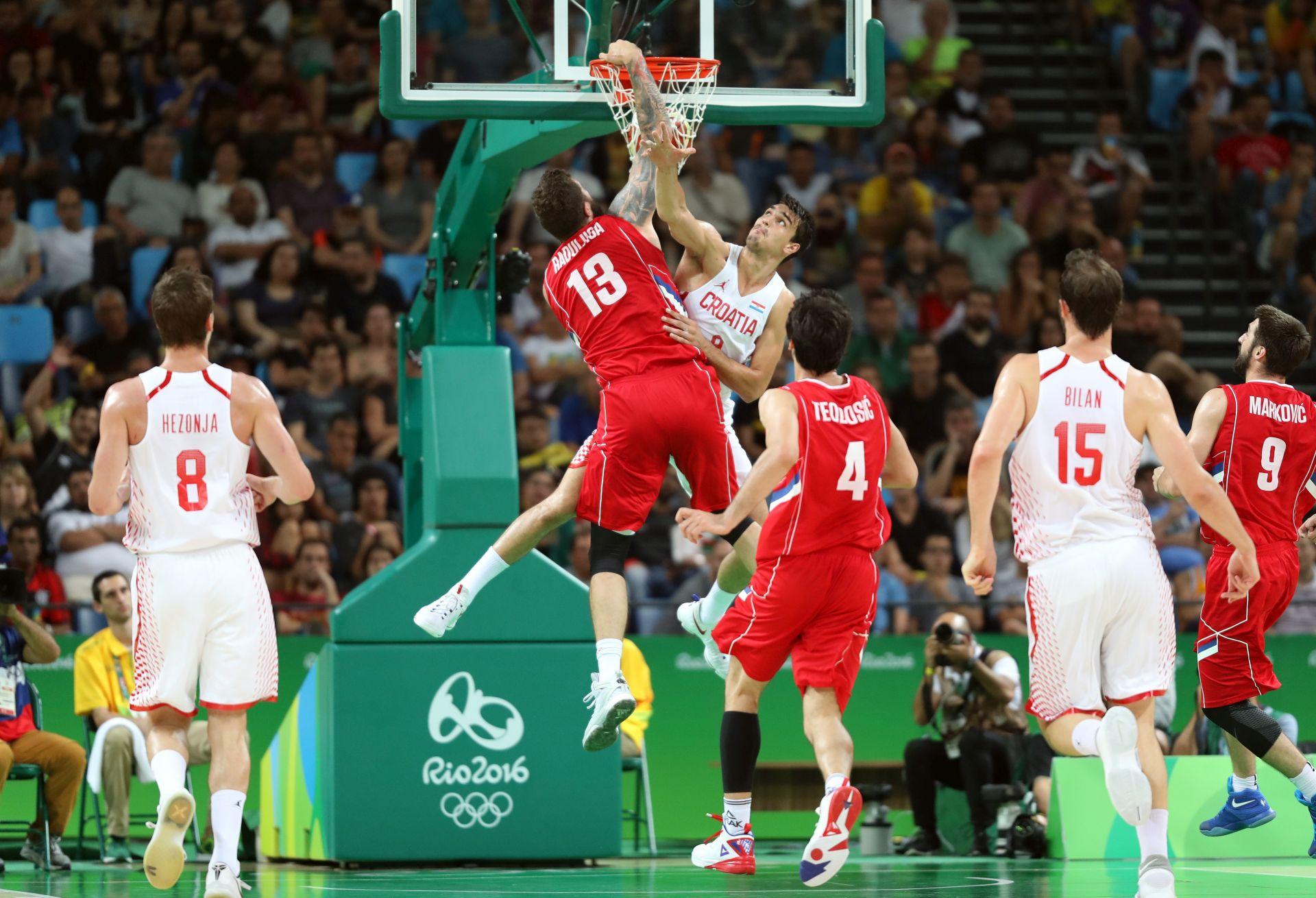 OI Rio: Hrvatska – Srbija 83-86