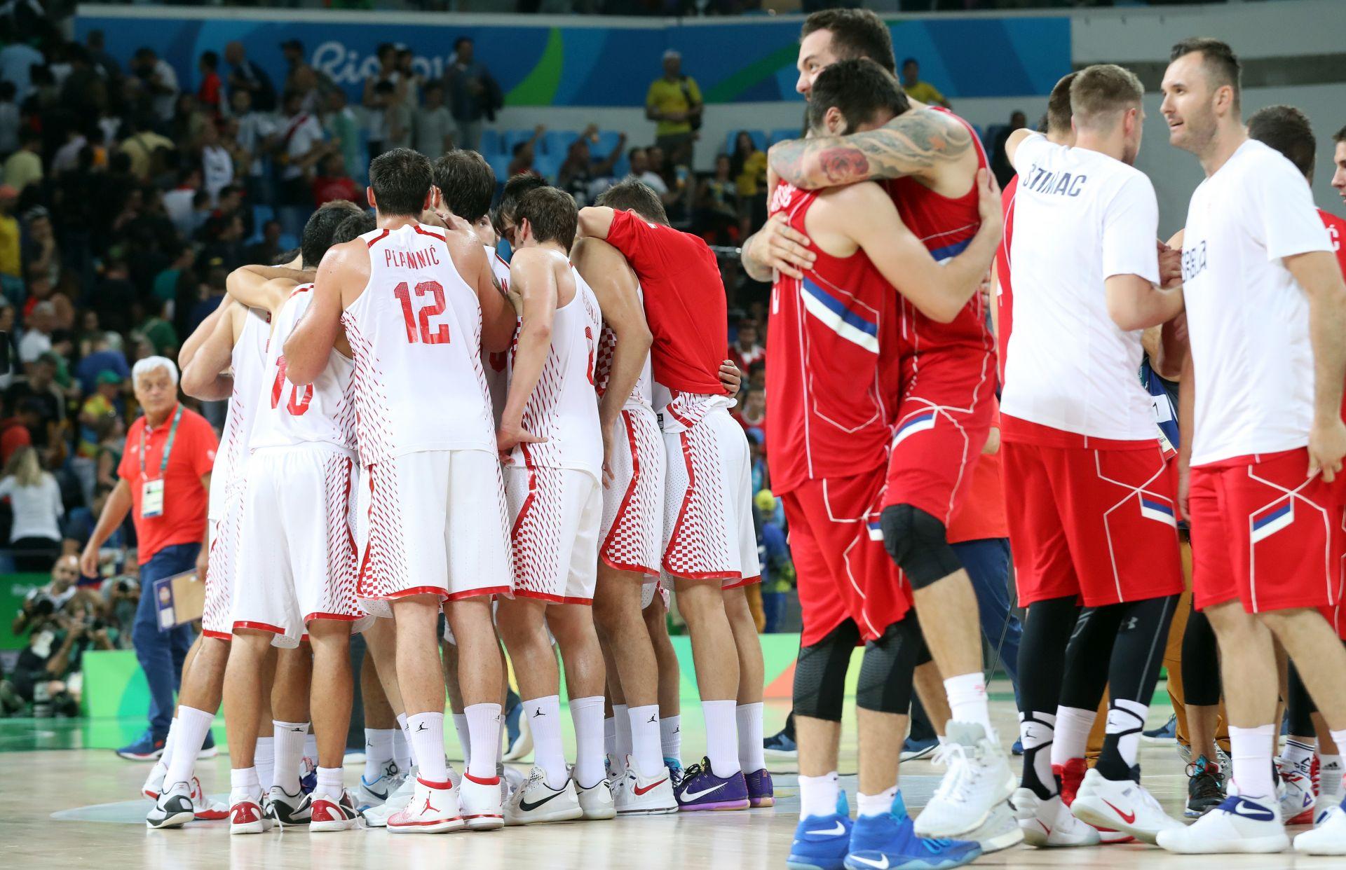 OI: Rezultati četvrtfinalnih susreta turnira košarkaša