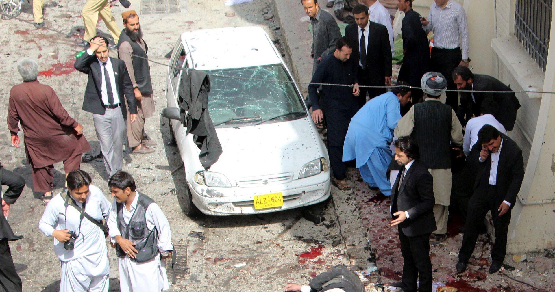 BOMBAŠKI NAPAD: Broj žrtava u Pakistanu porastao na 57