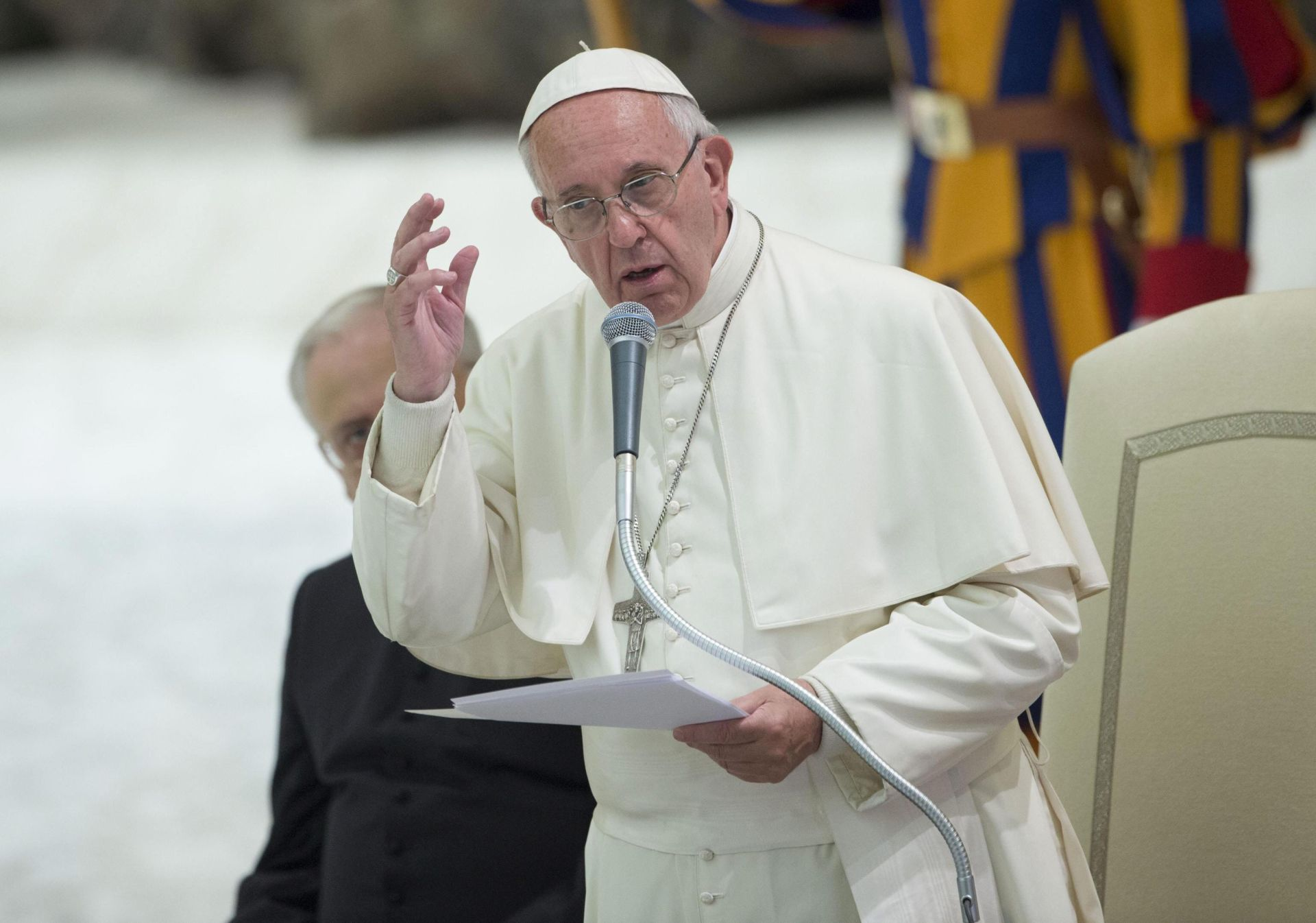 IZNENADNI POSJET: Papa razgovarao s 20 žena spašenih iz lanca prisilne prostitucije