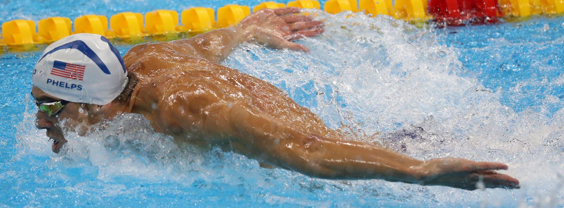 RUŠI SVE REKORDE: Phelps opet za povijest