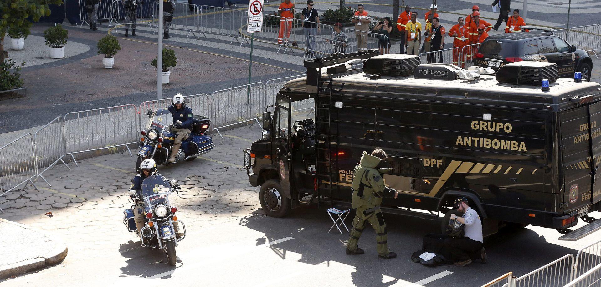 SUMNJIVI PAKET: Provedena kontrolirana eksplozija u blizini biciklističke staze na OI