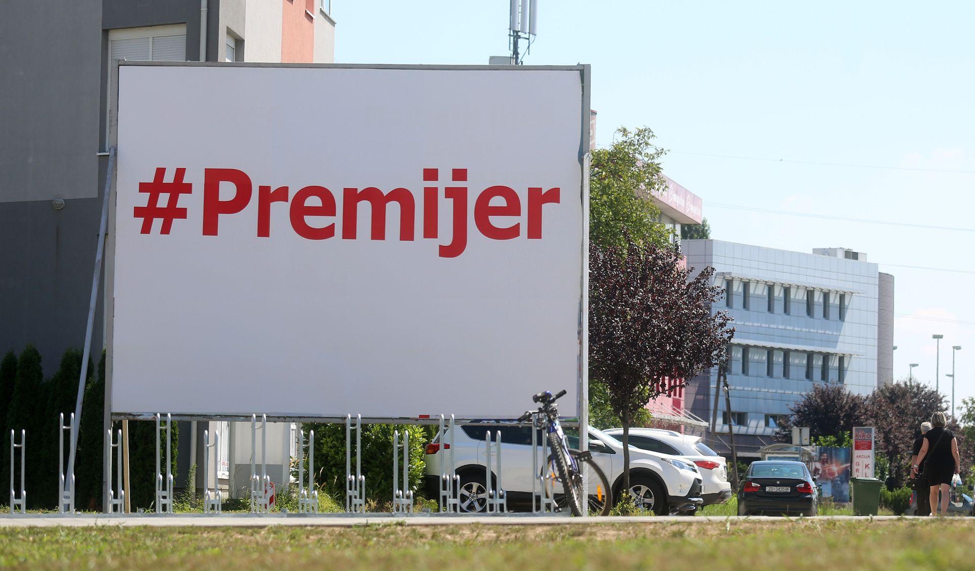 """IZBORNA PROMIDŽBA: DIP u plakatu s natpisom """"#Premijer"""" ne vidi ništa sporno"""