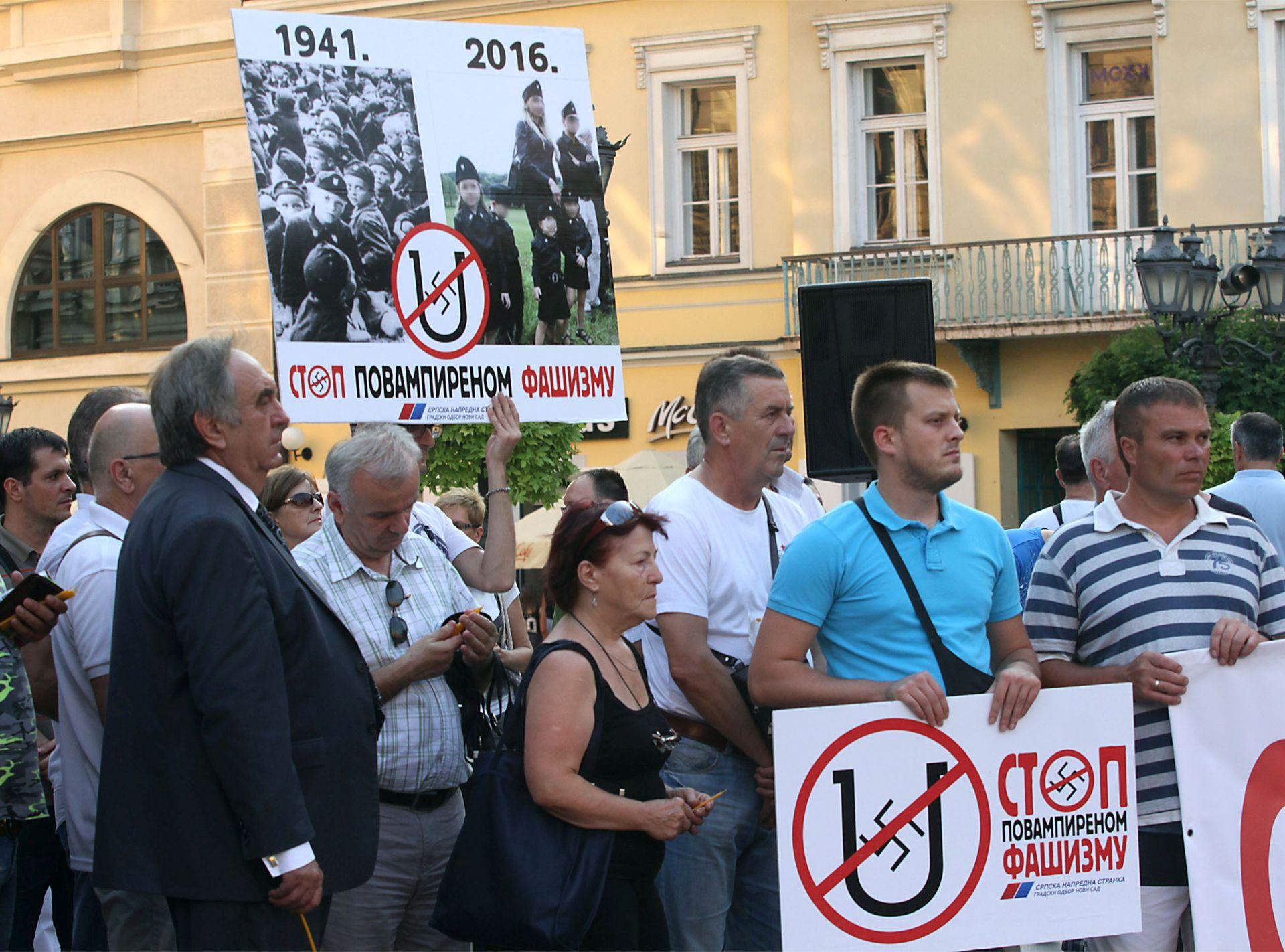 PALJENJE ZASTAVE U KNINU: Hrvatska odbila primiti prosvjednu notu Srbije