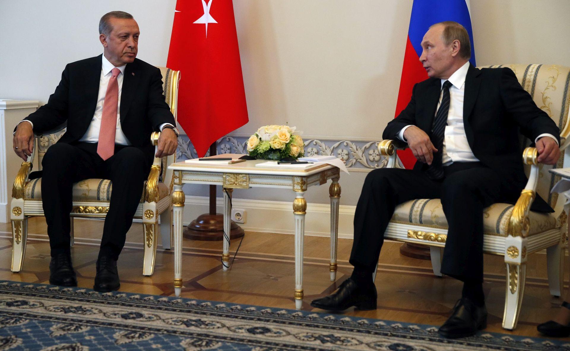 Putin, Erdogan i Rohani održat će razgovore o Siriji