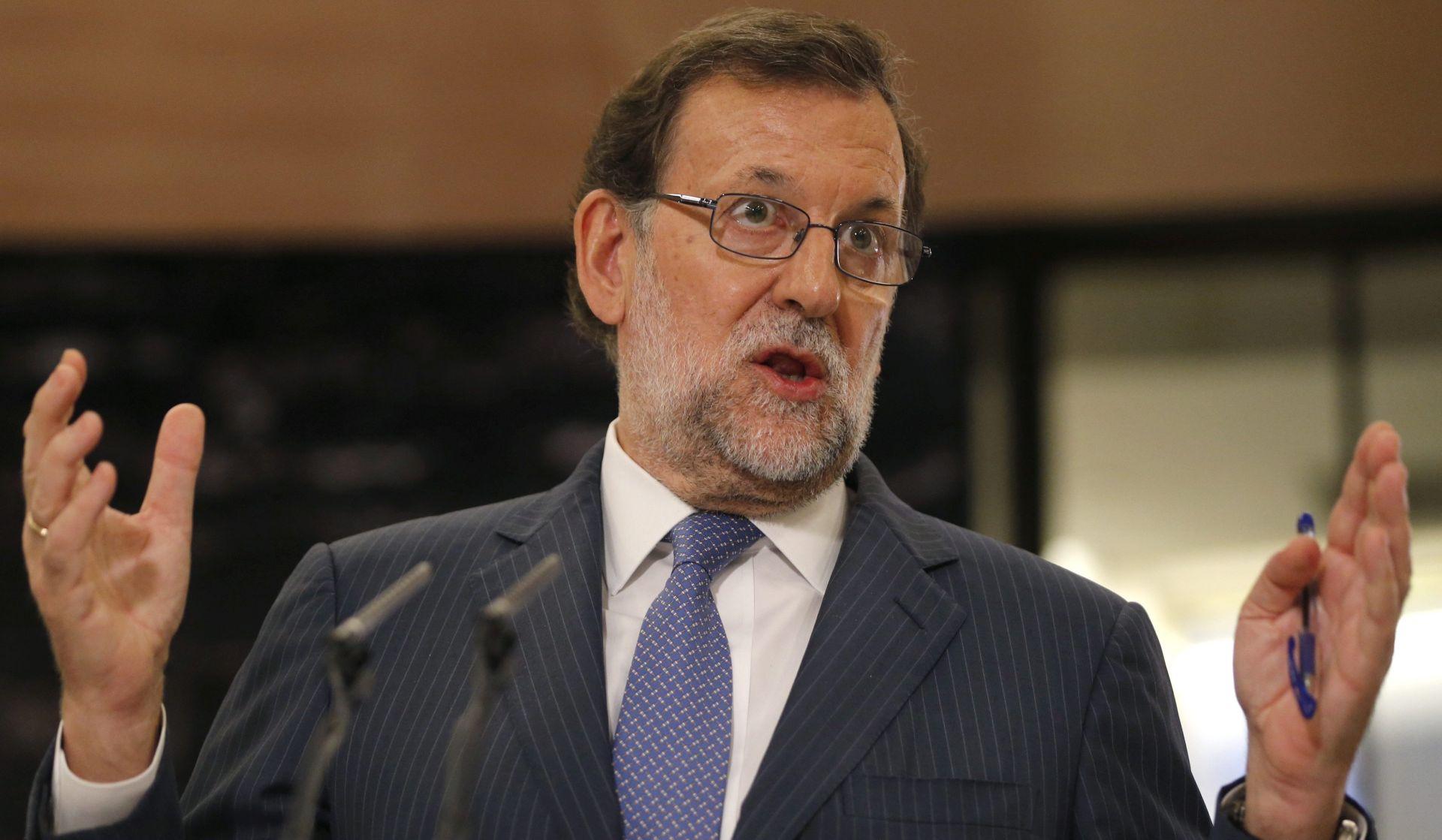 ŠPANJOLSKA Rajoy o novim mjerama za smanjenje deficita