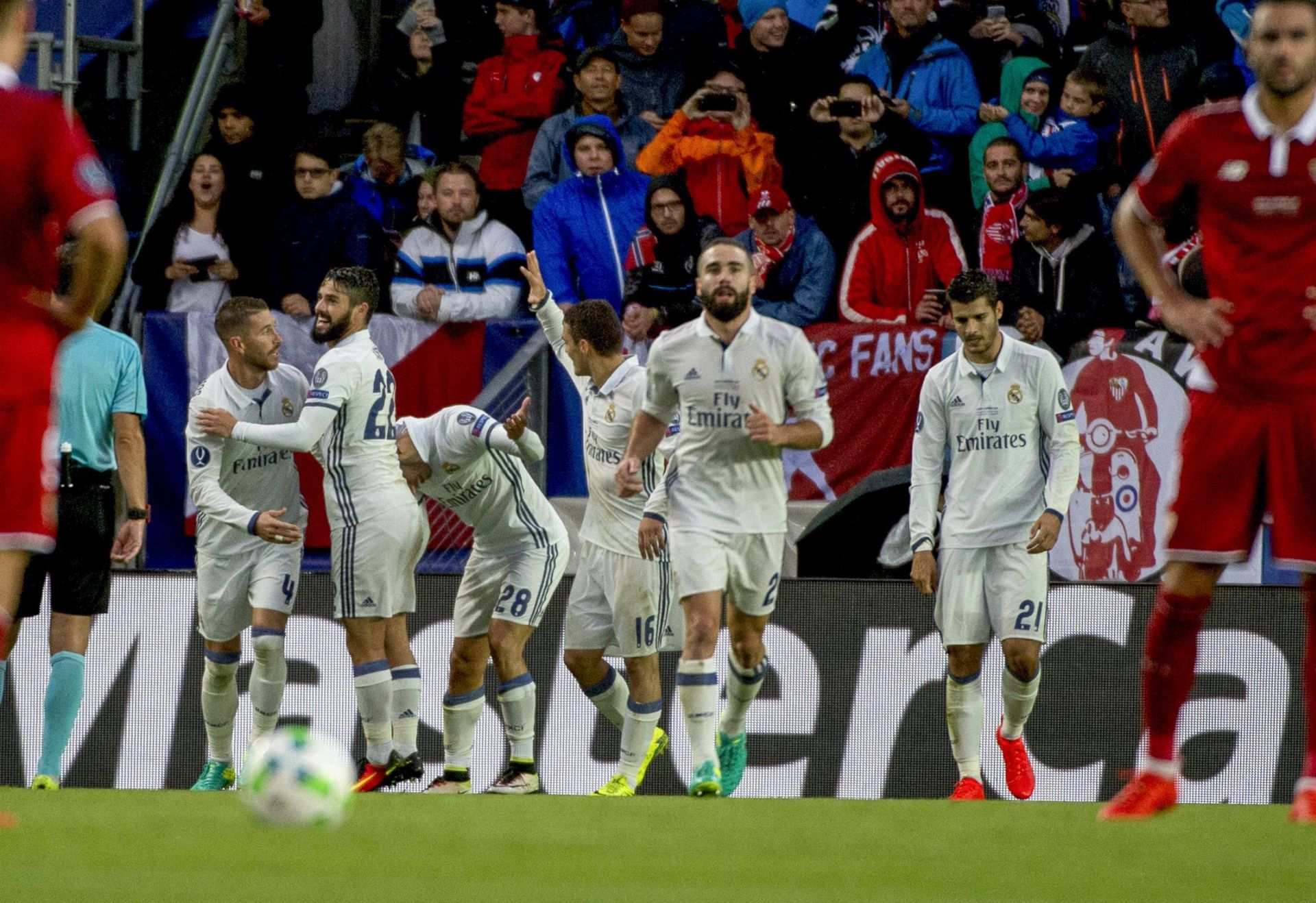 NASTUPILI MODRIĆ I KOVAČIĆ: Real Madrid – Sevilla 3-2