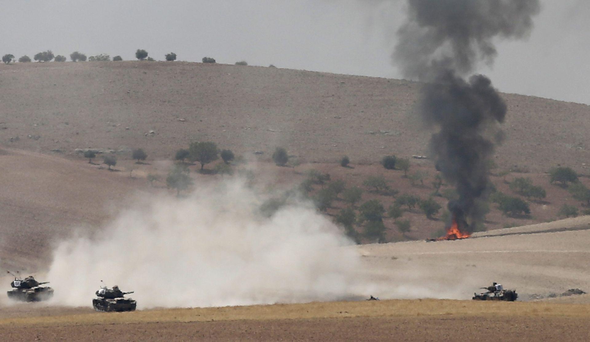 KRATKOTRAJNA OFENZIVA: Sirijski pobunjenici i turske snage oslobodili Jarablos od IS-a
