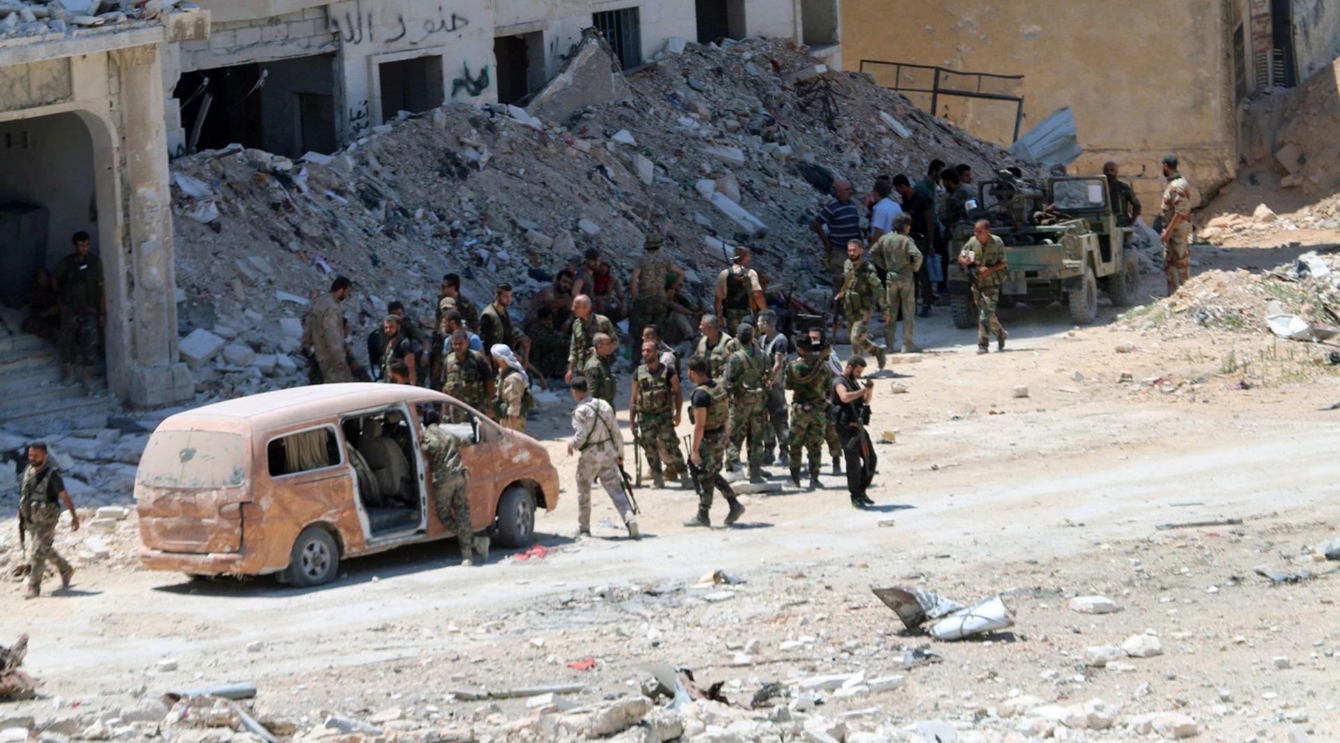 Sirijska vojska zauzela strateški važno područje Alepa, pobunjenici kažu da borba nije gotova