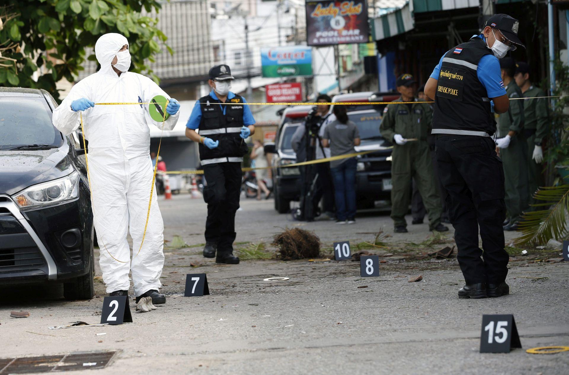 """SERIJA NAPADA: Policija na Tajlandu kaže da su napadi """"jasno povezani"""""""