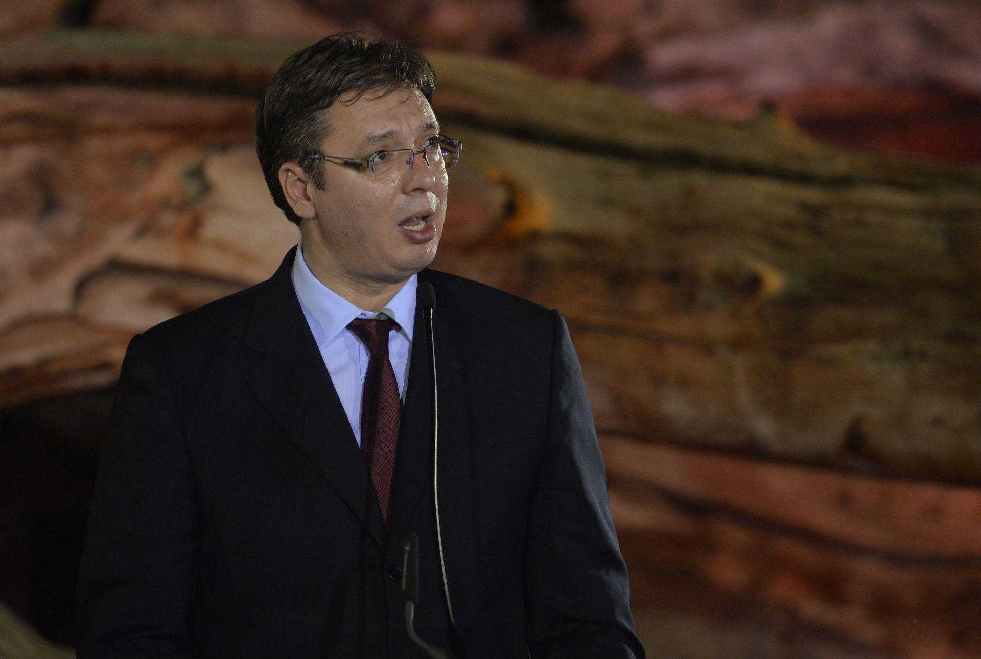 Vučić spreman povući se ako na predsjedničkim izborima ne pobijedi kandidat SNS-a