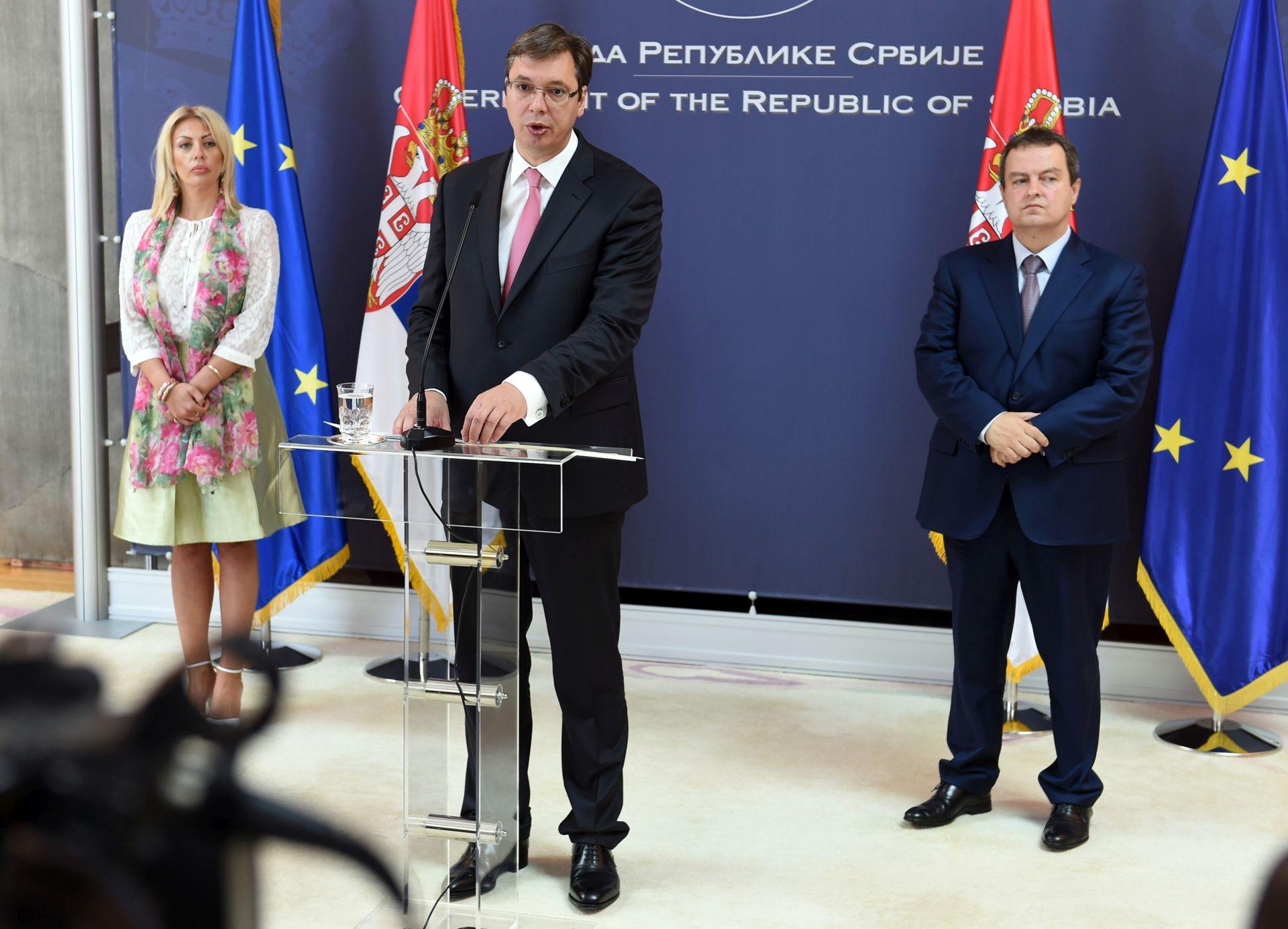 REAKCIJA NA UVREDE Vučić: 'Prešutio sam najgore uvrede jer ne želim vrijeđati Hrvate'