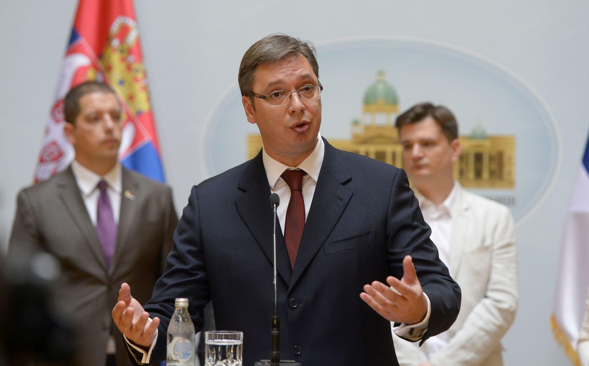 Vučić se s Hrvatskom želi natjecati u gospodarstvu, ne u uvredama