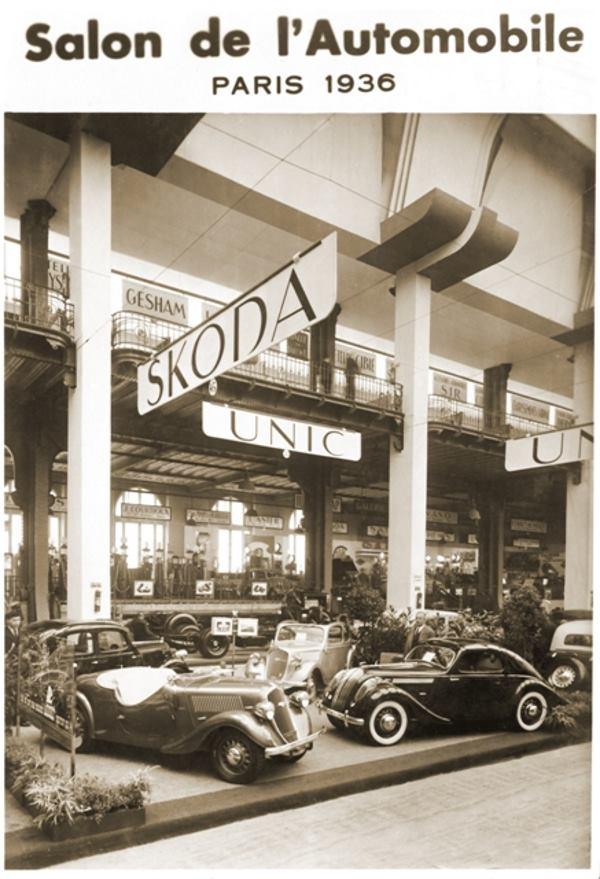 ŠKODA POPULAR Sport Monte Carlo na Međunarodnom automobilskom salonu u Parizu
