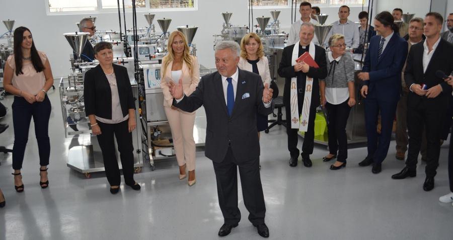 Predsjednik Uprave tvrtke Elda, gospodin Dario Marenić, održao je svečani govor