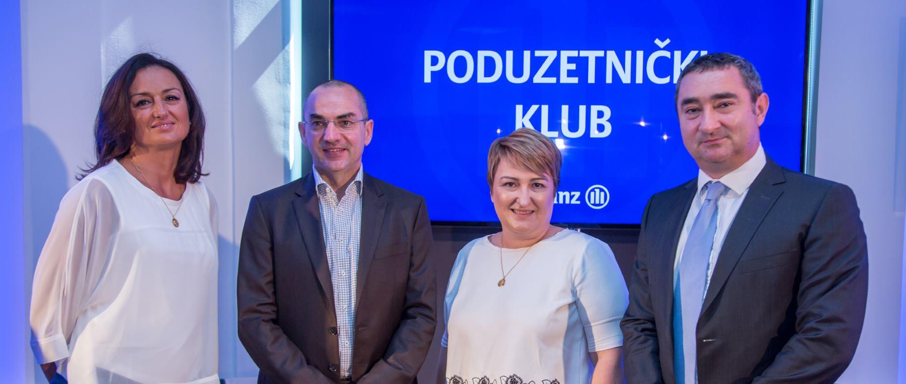 Tvrtka Allianz pokrenula Poduzetnički klub koji okuplja više od 200 malih poduzetnika