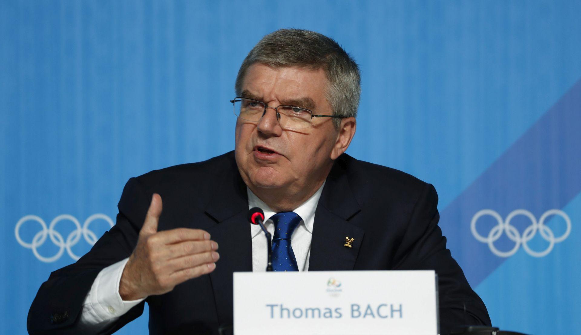 Predsjednik MOO-a Bach neće doći na POI