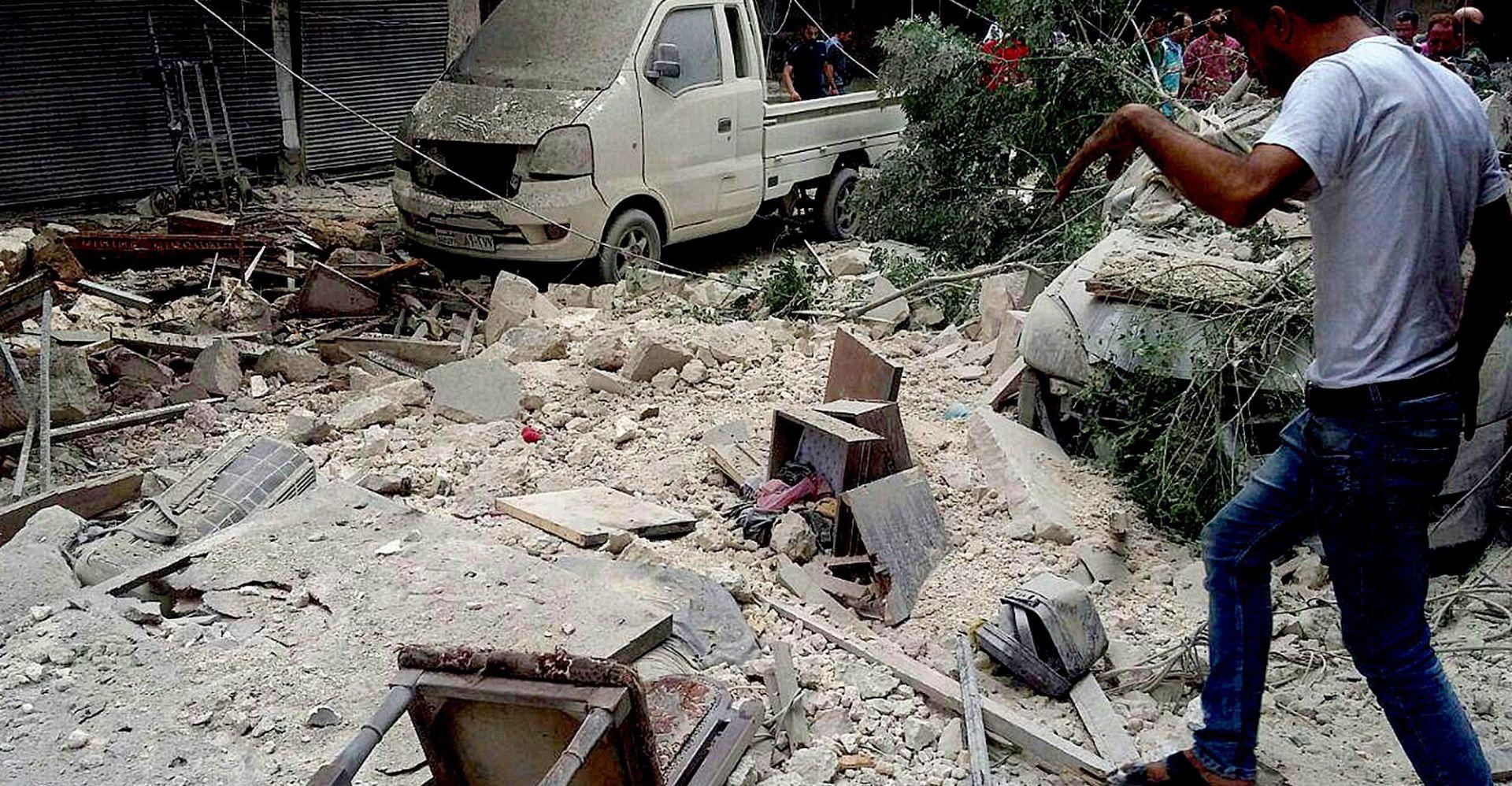ALEPPO U zračnom napadu ubijen 'visoki dužnosnik' Jabhat Fateh al-Shama