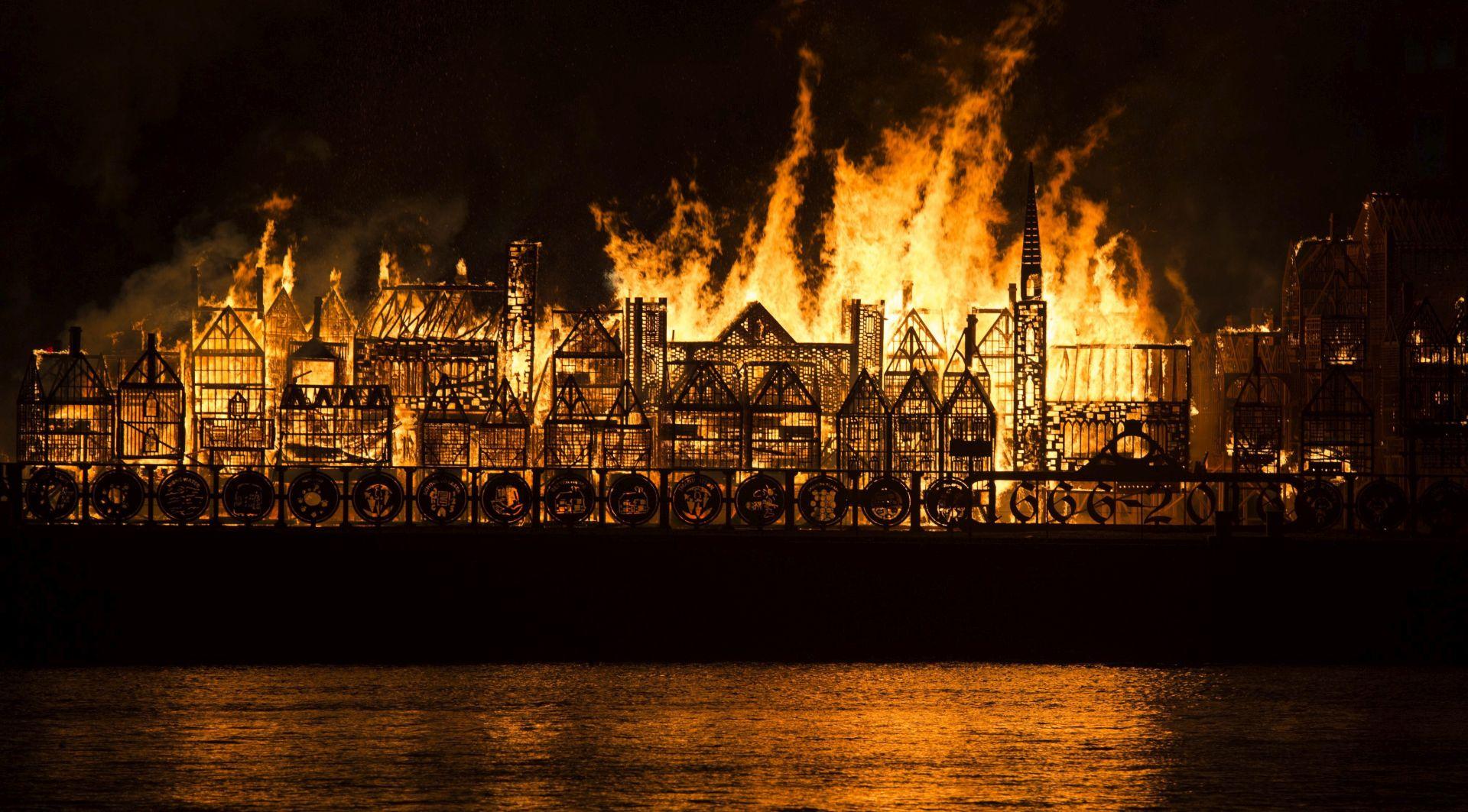 London iz 17. stoljeća ponovo izgorio