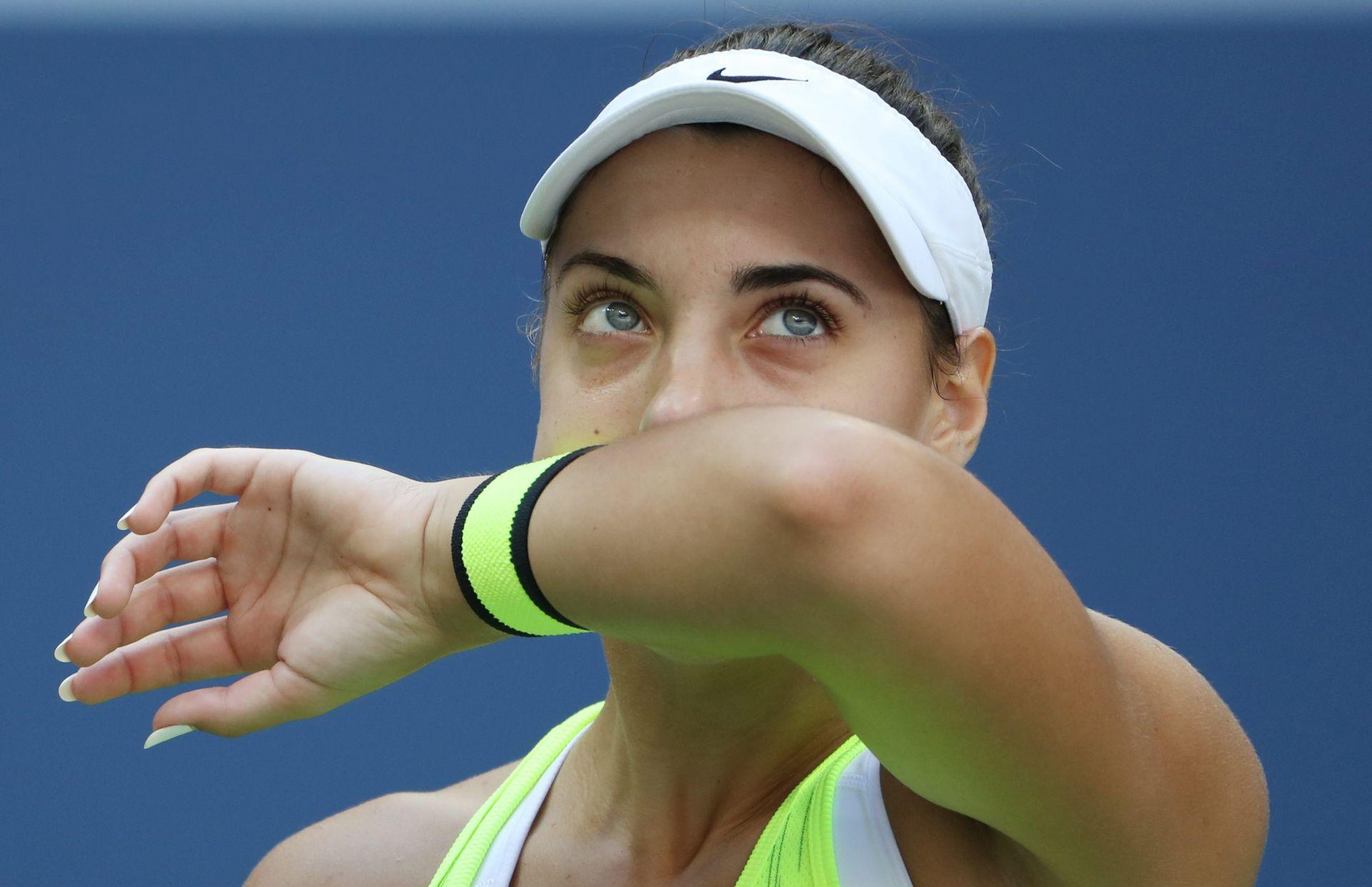 NIŠTA OD NOVE SENZACIJE Ana Konjuh osvojila samo četiri gema u četvrtfinalu US Opena
