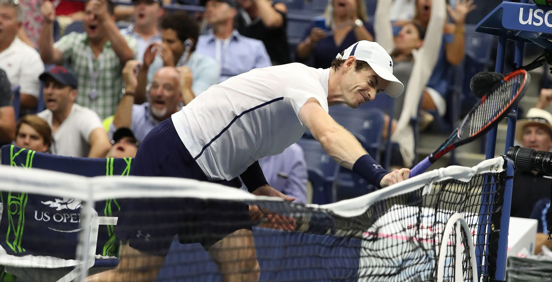 US OPEN Nishikori izbacio Murrayja, u polufinalu na Wawrinku