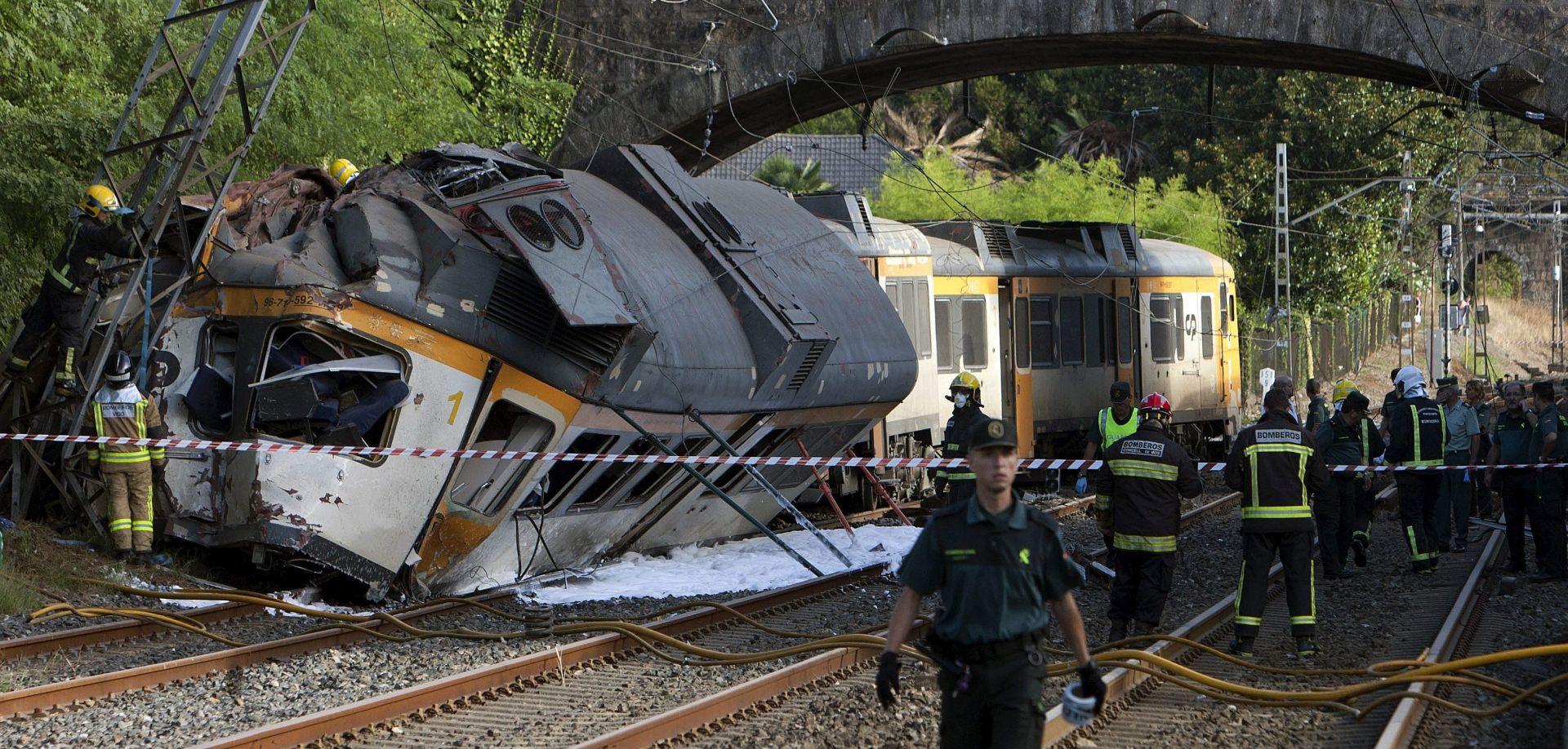 ŠPANJOLSKA Vlak izletio iz tračnica, najmanje četvero mrtvih