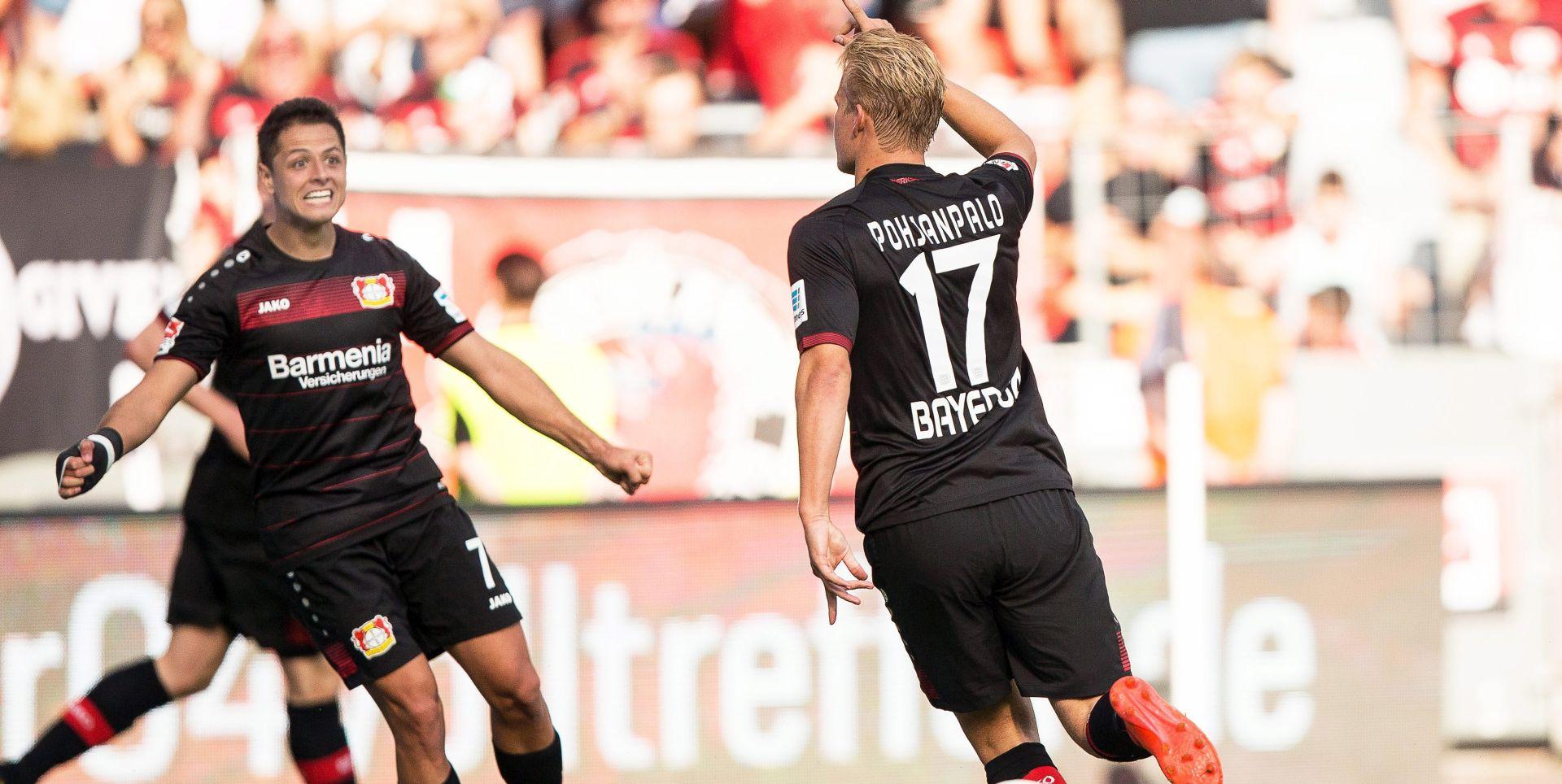 BUNDESLIGA 'Hat-trick' Finca Pohjanpala za pobjedu Bayera