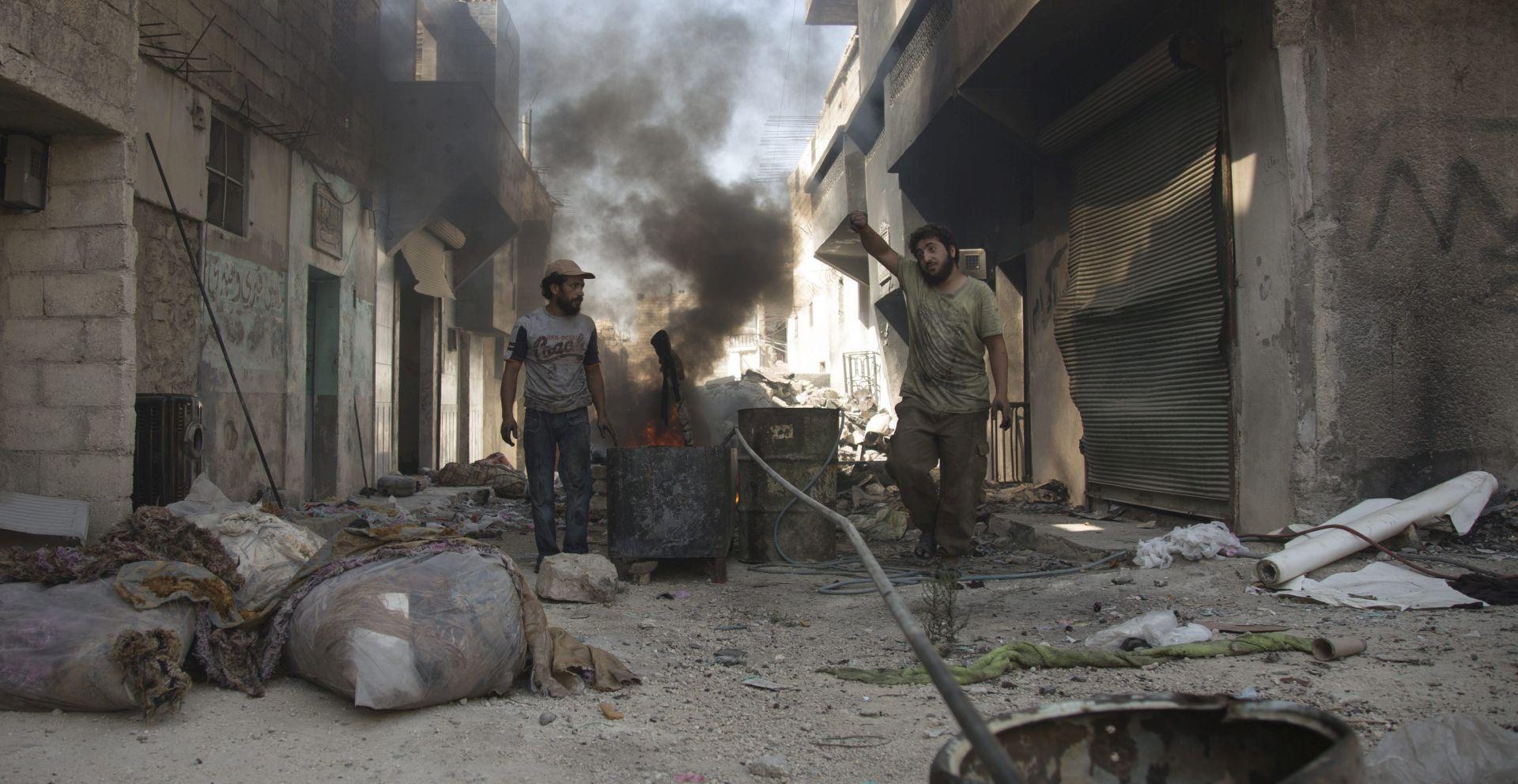 NAKON PRIMIRJA: Žestoki sukobi u sirijskom Alepu