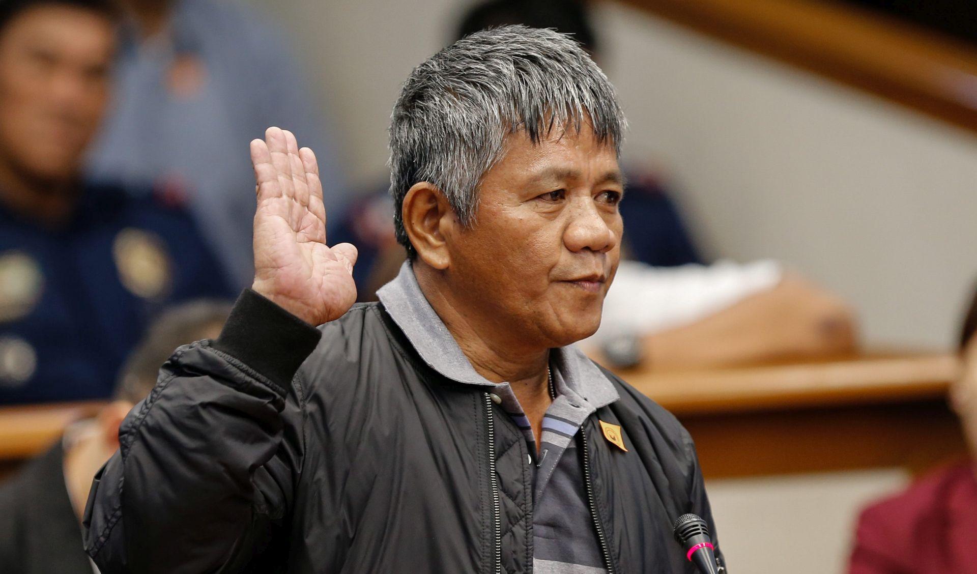"""SASLUŠANJE U SENATU """"Duterte je smaknuo agenta Ministarstva Uzijem, ispraznio je dva šaržera u njega"""""""